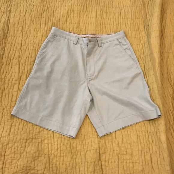 Tommy Bahama Mens Boracay Chambray 10 Inch Chino Size 35 Shorts
